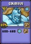 Colossus Item Card