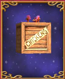 Crate of Chickens
