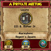 A Private Meeting