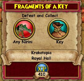 Fragments of a Key