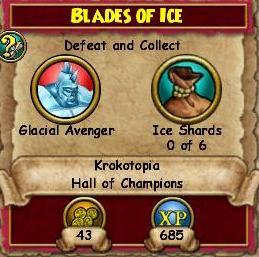 Blades of Ice