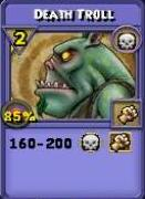Death Troll Item Card
