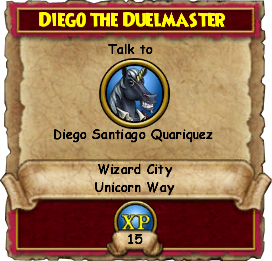 Diego the Duelmaster (Quest)