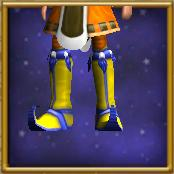 Sturdy Yellow Boots
