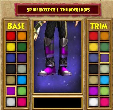 Spiderkeeper's Thundershoes