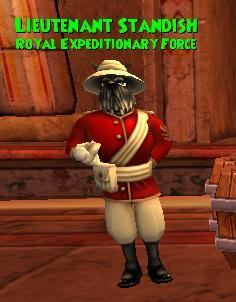 Lieutenant Standish