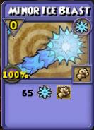 Minor Ice Blast Item Card
