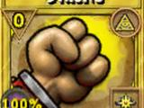 Strong Treasure Card