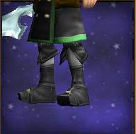 Necromancer's Ivory Boots
