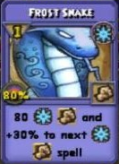 Frost Snake Item Card