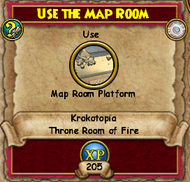 Use the Map Room