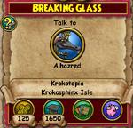 Q KT Breaking Glass 2