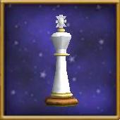 White King Chesspiece