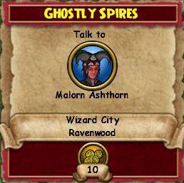 Ghostly Spires