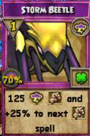 Storm Beetle Item Card