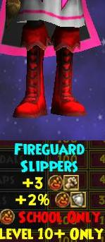 Fireguard Slippers