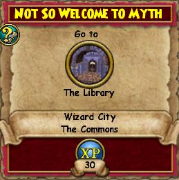 Not so Welcome to Myth