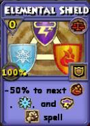 Elemental Shield Item Card