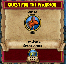 Quest for the Warrior