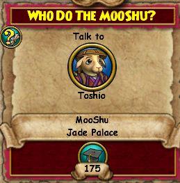 Who Do the Mooshu?