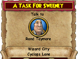 A Task for Sweeney