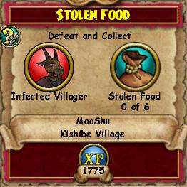 Stolen Food