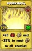Power Nova (Treasure Card)