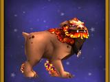 Στοιχειακό λιοντάρι-φύλακας