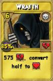 Wraith Treasure Card