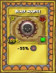 Black Mantle Treasure Card