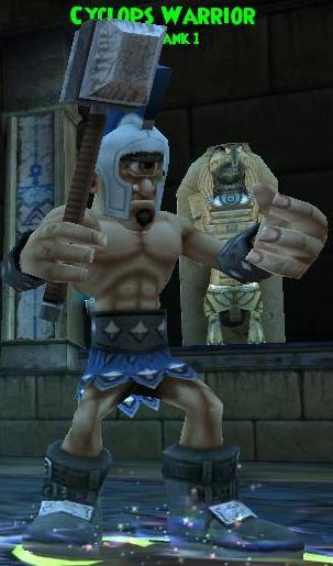 Cyclops Warrior