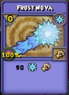 Frost Nova Item Card