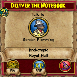 Deliver the Notebook