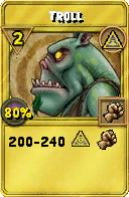 Troll Treasure Card