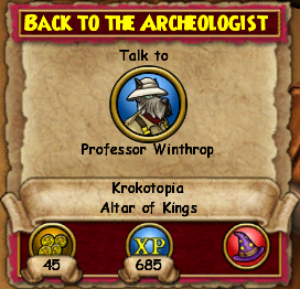Back to the Archeologist