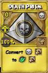 Death Prism Treasure Card