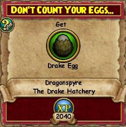 Don't Count Your Eggs...