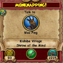 Monknapping!