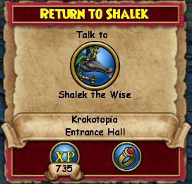 Return to Shalek