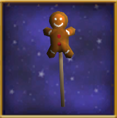 Gingerbread Wand