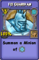 Ice Guardian Item Card