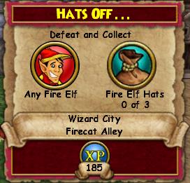 Hats Off...