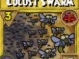 Locust Swarm Treasure Card