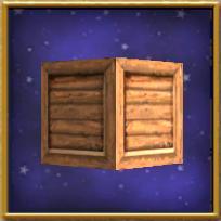 Dark Wood Crate