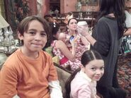 Selena and jennifer and the kids alex vs. alex behind the scenes
