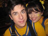 David and selena behind the scenes positive alex
