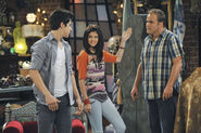Justin, alex and jerry Fashion week