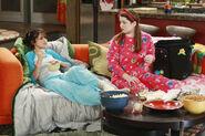 Harper and alex in pijama art teacher
