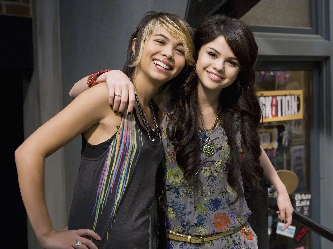 Selena Gomez & Hayley Kiyoko Eat To the Beat.jpg