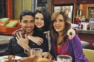 Wilmer, selena and maria behind the scenes Uncle Ernesto